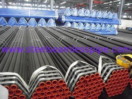 API 5L X42 X46 X52 X80 Carbon Steel Pipe Black Painting Round Steel Tubing
