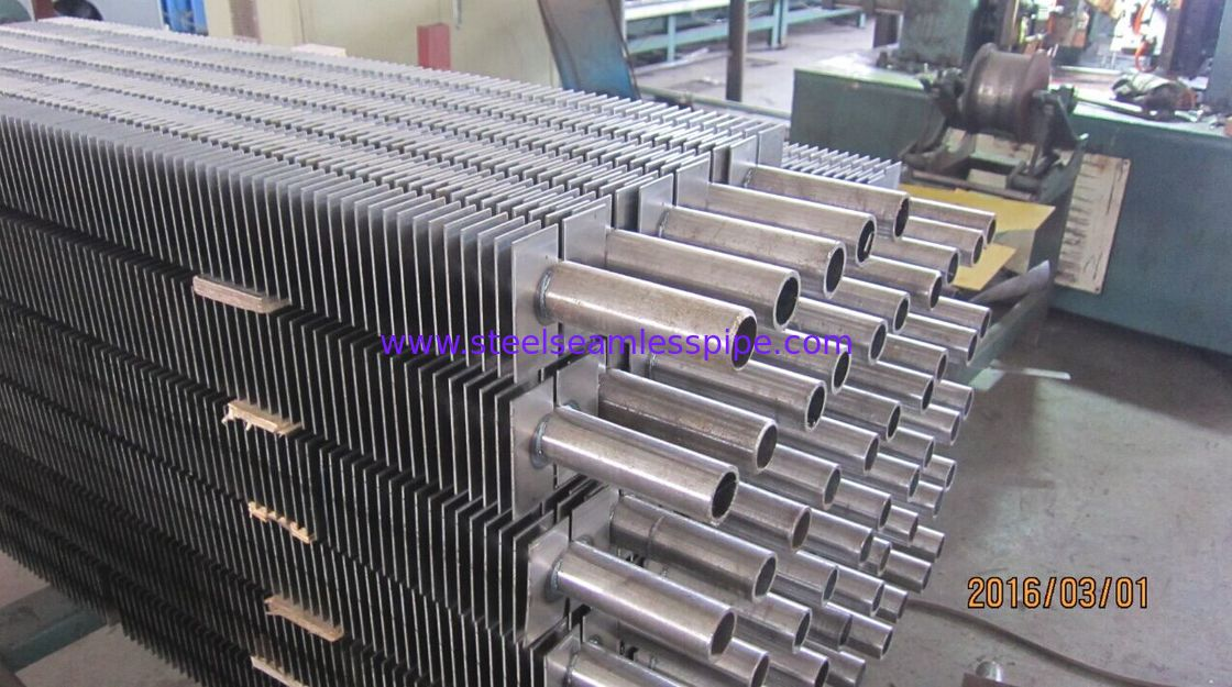 A192 SMLS H Bolier Square Heat Exchanger Fin Tube Of Waste Heat Recovery Unit
