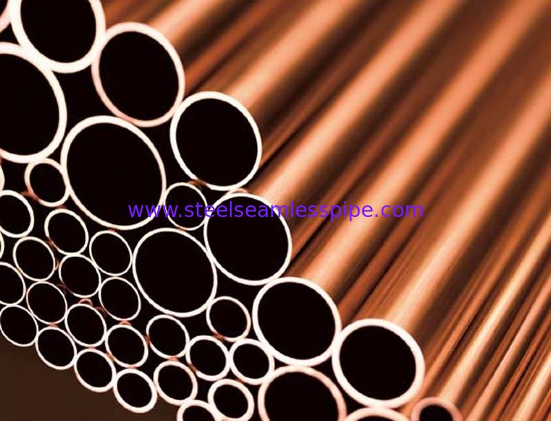 Copper Brass Tube ASTM B111 O61 C70600 C71500 Used for Boiler / Heat Exchanger / Air condenser
