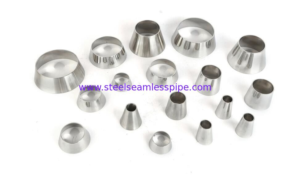 Mirror polished sanitary stainless steel pipe fitting Material 3A/DIN/SMS/ID SS304,SS316-Accesorios sanitarios Brillosos
