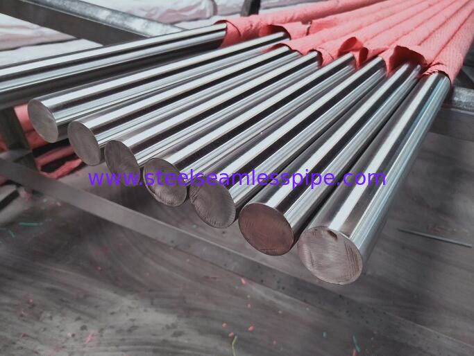 Polish 600 Grits Surface Stainless Steel Round Bar ASTM A276 A484 6 Meters Length