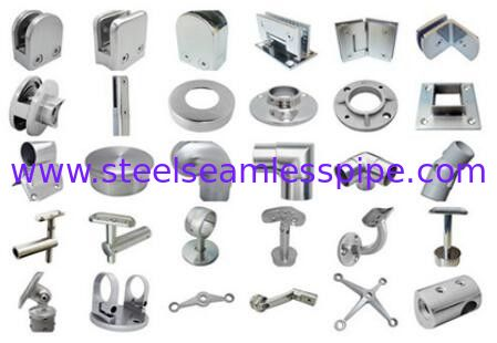 High Precision Stainless Steel Seamless Pipe Fittings Bright Satin Surface